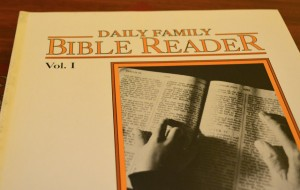 Daily Family Bible Reader 1